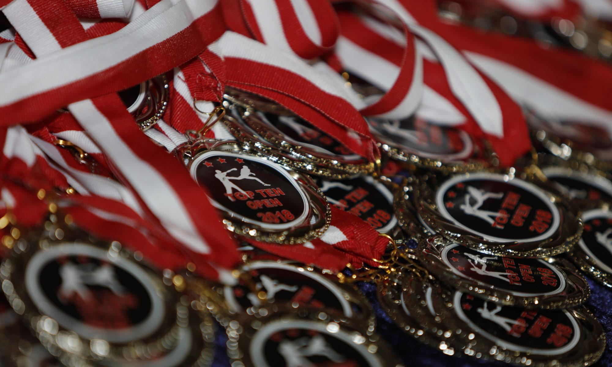 TOP TEN Open 2018 Medals